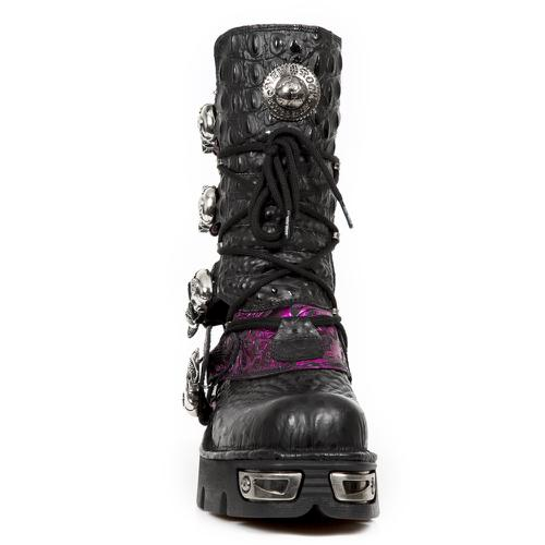 M.373-CZ82 AFRICA NEGRO, VINTAGE FLOWER BOX METAL FUCSIA, NEW REACTOR NEGRO