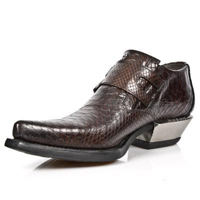 M.7934-S4 PITON MARRON, WEST NEGRO ACERO