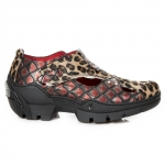 M.FURIOUS020-C1 LEOPARDO PELO MARRON, DRAGON ROJO, FURIOUS NEGRO