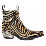 M-7953PT-C27 PELO CEBRA LEOPARDO, WEST NEGRO TACON DALLAS ACERO