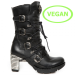M.TR003-VS1 VEGAN NEGRO TRAIL NEGRO TACON ACERO